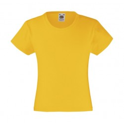 Camiseta Valueweight niña FRUIT OF THE LOOM 61-005-0