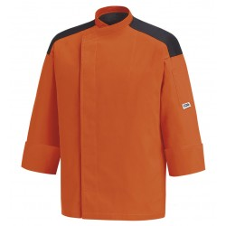 Chaqueta combinada cocina EGOCHEF 104014 ORANGE FIRST