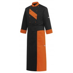 Delantal francés EGOCHEF 713013 DOUBLE ORANGE