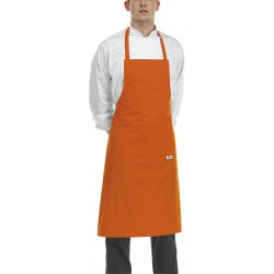 Delantal de peto EGOCHEF 704013 ORANGE (Pack 2 uds.).