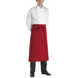 Delantal francés EGOCHEF 710007 Francese RED (Pack 2 uds.)