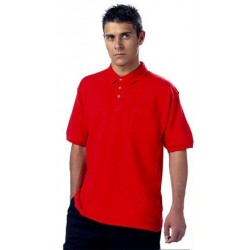 Polo laboral MONZA 3000 (Sólo disponibles 2 unidades de la talla 2XL color blanco)