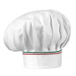 Gorro gran chef EGOCHEF 7000407P ITALY PIPING (pack 2 uds)