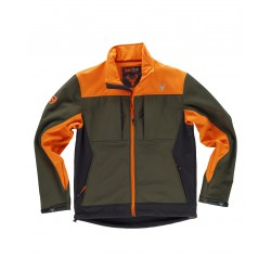 Chaqueta Workshell combinada tricolor WORKTEAM S8625