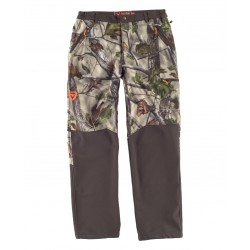 Pantalón Workshell combinado estampado WORKTEAM S8365