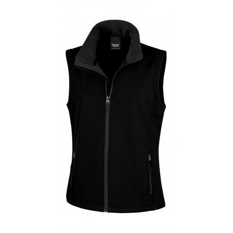 Chaleco Softshell printable mujer RESULT CORE R232F