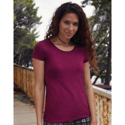 Camiseta Suave Ringspun Premium Mujer FRUIT OF THE LOOM 61-424-0