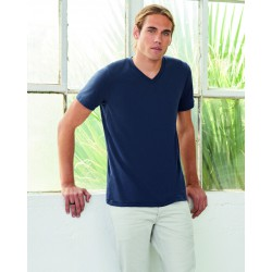 Camiseta cuello V Triblend unisex BELLA+CANVAS 3415