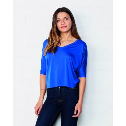 Camiseta ligera cuello V BELLA+CANVAS 8825