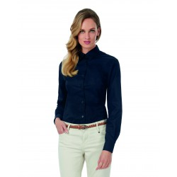 Camisa sarga Sharp LSL/Women Twill B&C SWT83