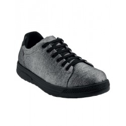 SNEAKERS COMFORT SILVER ISACCO 112842